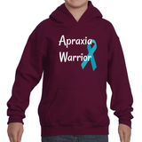 Apraxia Warrior Kids' Youth Hoodie Sweatshirt - Choose Color - Sunshine and Spoons Shop