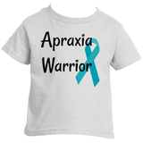 Apraxia Warrior Kids' Shirt - Choose Color - Sunshine and Spoons Shop