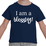 I am a Blessing Special Needs Kids' Shirt - Choose Color - Sunshine and Spoons Shop