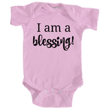 I am a Blessing Special Needs Onesie Bodysuit - Choose Color - Sunshine and Spoons Shop