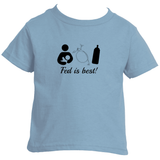 Fed Is Best Tube Feeding Breastfeeding Kids' Shirt - Choose Color - Sunshine and Spoons Shop