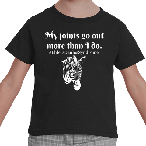 My Joints Go Out More Than I Do Ehlers Danlos EDS Kids' Shirt - Choose Color