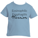 Eosinophilic Esophagitis Warrior EoE EE Kids' Shirt - Choose Color - Sunshine and Spoons Shop