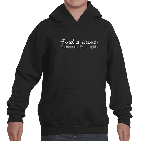Find a Cure Eosinophilic Esophagitis EoE EE Kids' Youth Hoodie Sweatshirt - Choose Color - Sunshine and Spoons Shop