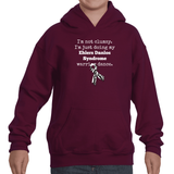 I'm Not Clumsy. This is My EDS Warrior Dance Ehlers Danlos Kids' Youth Hoodie Sweatshirt - Choose Color