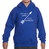 It's Not a Label, It's a Diagnosis Kids' Youth Hoodie Sweatshirt - Choose Shirt