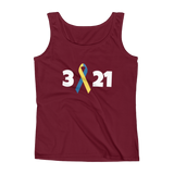 3 21 Down Syndrome Awareness Women's Tank Top - Choose Color - Sunshine and Spoons Shop