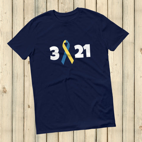 3 21 Down Syndrome Awareness Unisex Shirt - Choose Color - Sunshine and Spoons Shop