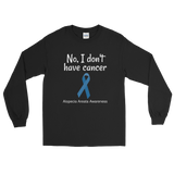 No, I Don't Have Cancer Alopecia Awareness Unisex Long Sleeved Shirt - Choose Color - Sunshine and Spoons Shop