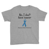 No, I Don't Have Cancer Alopecia Awareness Kids' Shirt - Choose Color - Sunshine and Spoons Shop