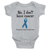 No, I Don't Have Cancer Alopecia Awareness Onesie Bodysuit - Choose Color - Sunshine and Spoons Shop
