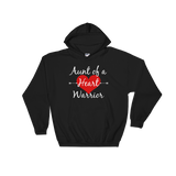 Aunt of a Heart Warrior CHD Heart Defect Hoodie Sweatshirt - Choose Color - Sunshine and Spoons Shop