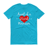Aunt of a Heart Warrior CHD Heart Defect Unisex Shirt - Choose Color - Sunshine and Spoons Shop