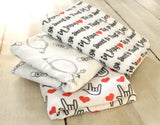 Organic Muslin Tis So Sweet to Trust Jesus Swaddle Blanket - Sunshine and Spoons Shop