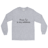 Brain Fog Is My Nemesis Spoonie Unisex Long Sleeved Shirt - Choose Color - Sunshine and Spoons Shop
