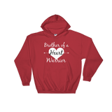 Brother of a Heart Warrior CHD Heart Defect Hoodie Sweatshirt - Choose Color - Sunshine and Spoons Shop