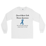 Charcot Marie Tooth Disease Awareness Long Sleeved Unisex Shirt - Choose Color - Sunshine and Spoons Shop