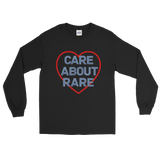 Care About Rare Disease Unisex Long Sleeved Shirt - Choose Color - Sunshine and Spoons Shop