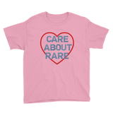 Care About Rare Disease Kids' Shirt - Choose Color - Sunshine and Spoons Shop