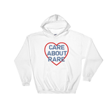 Care About Rare Disease Hoodie Sweatshirt - Choose Color - Sunshine and Spoons Shop