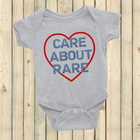Care About Rare Disease Onesie Bodysuit - Choose Color - Sunshine and Spoons Shop