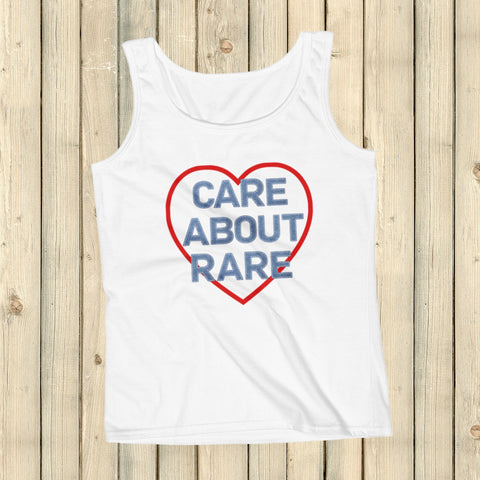 Care About Rare Disease Women's Tank Top - Choose Color - Sunshine and Spoons Shop