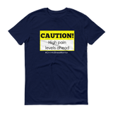 Caution! High Pain Levels Ahead Chronic Illness Unisex Shirt - Choose Color - Sunshine and Spoons Shop