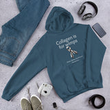 Collagen Is For Wimps Ehlers Danlos EDS Hoodie Sweatshirt - Choose Color - Sunshine and Spoons Shop
