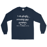 I'm Not So Silently Correcting Your Grammar Unisex Long Sleeved Shirt - Choose Color - Sunshine and Spoons Shop