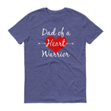 Dad of a Heart Warrior CHD Heart Defect Unisex Shirt - Choose Color - Sunshine and Spoons Shop