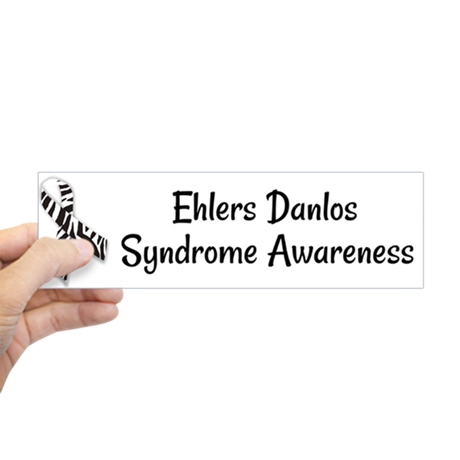 Ehlers Danlos Syndrome Awareness Bumper Sticker - Sunshine and Spoons Shop