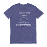 I Can Eat While I Sleep Feeding Tube Superpower Unisex Shirt - Choose Color - Sunshine and Spoons Shop