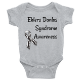 Ehlers Danlos Syndrome EDS Awareness Onesie Bodysuit - Choose Color
