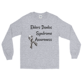 Ehlers Danlos Syndrome EDS Awareness Unisex Long Sleeved Shirt - Choose Color - Sunshine and Spoons Shop