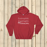 Eosinophilic Esophagitis Warrior EoE EE Hoodie Sweatshirt - Choose Color - Sunshine and Spoons Shop