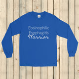 Eosinophilic Esophagitis Warrior EoE EE Unisex Long Sleeved Shirt - Choose Color - Sunshine and Spoons Shop