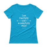 Fearfully and Wonderfully Made Scoop Neck Women's Shirt - Choose Color - Sunshine and Spoons Shop
