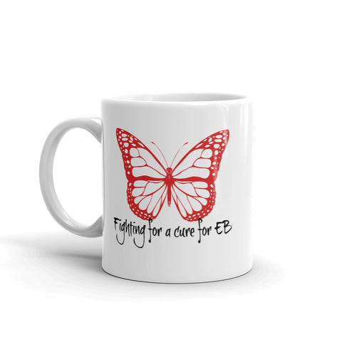 Fighting for a Cure for EB Epidermolysis Bullosa Coffee Tea Mug - Choose Size