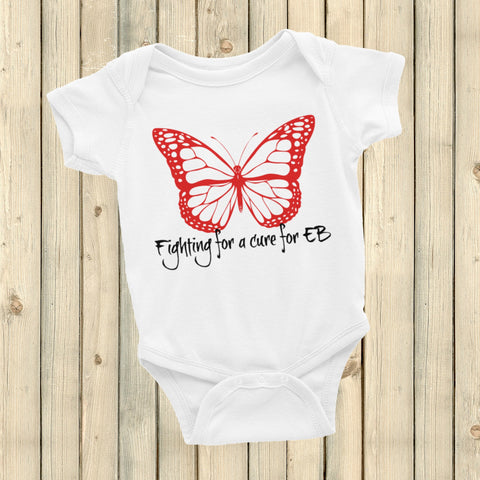 Fighting for a Cure for EB Epidermolysis Bullosa Onesie Bodysuit - Choose Color - Sunshine and Spoons Shop