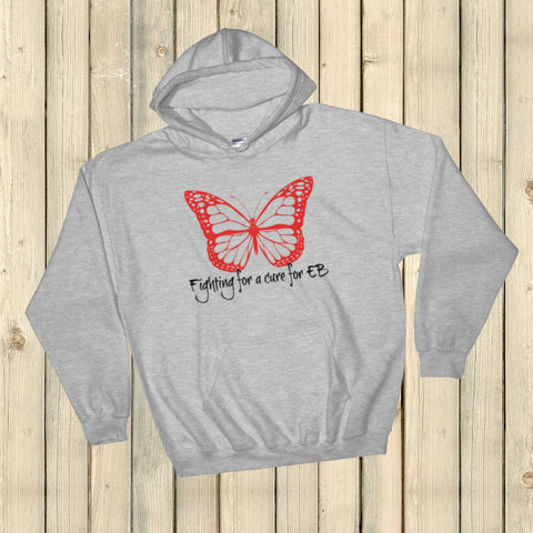 Fighting for a Cure for EB Epidermolysis Bullosa Hoodie Sweatshirt - Choose Color - Sunshine and Spoons Shop