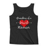 Grandma of a Heart Warrior CHD Heart Defect Women's Tank Top - Choose Color - Sunshine and Spoons Shop
