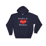 Grandma of a Heart Warrior CHD Heart Defect Hoodie Sweatshirt - Choose Color - Sunshine and Spoons Shop