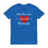 Grandma of a Heart Warrior CHD Heart Defect Unisex Shirt - Choose Color - Sunshine and Spoons Shop