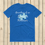 Grandma of an Autism Warrior Awareness Puzzle Piece Unisex Shirt - Choose Color - Sunshine and Spoons Shop