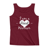 I am a Heart Warrior CHD Heart Defect Women's Tank Top - Choose Color - Sunshine and Spoons Shop