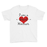 I am a Heart Warrior CHD Heart Defect Kids' Shirt - Choose Color - Sunshine and Spoons Shop