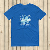 I am an Autism Warrior Awareness Puzzle Piece Unisex Shirt - Choose Color - Sunshine and Spoons Shop