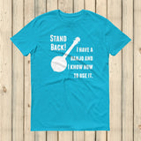 Stand Back! I Have a Banjo and I'm Not Afraid to Use It Bluegrass Unisex Shirt - Choose Color - Sunshine and Spoons Shop