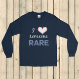 I Love Someone Rare Unisex Long Sleeved Shirt - Choose Color - Sunshine and Spoons Shop