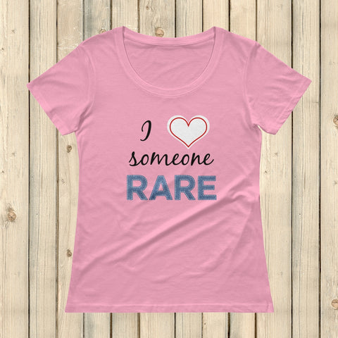 I Love Someone Rare Scoop Neck Women's Shirt - Choose Color - Sunshine and Spoons Shop